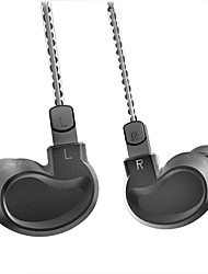 voordelige -bqeyz k1 2dd 1ba drievoudige drivers hifi in-ear headset 0.78mm verwijderbare kabel aluminium oortelefoon shell sportoordopjes