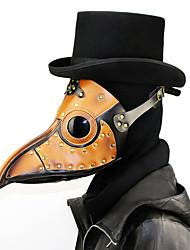 Недорогие -Доктор чумы Ретро Steampunk Маски Маскарад Муж. Жен. Костюм Маски Коричневый Винтаж Косплей Рождество Для вечеринок Halloween