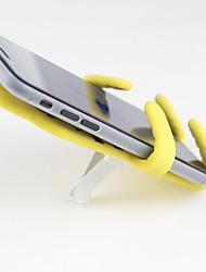 Недорогие -творческий мультфильм противоскользящие ленивый мобильный телефон автомобильный держатель вентиляционное отверстие подставка для телефона универсальный силиконовый gps лобовое стекло присоски стенты