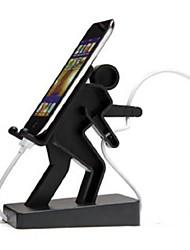 Недорогие -креативная подставка для мобильного телефона / держатель для iphone / ipod / mp3 / touch (модель m010434) (черная)