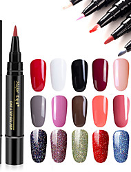cheap -Nail Polish UV Gel  1 pcs Stylish / Glamour Soak off Long Lasting  Wedding Party / Daily Wear / Date Stylish / Glamour Fashionable Design / Bright Tone / Multi Color