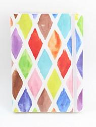 Недорогие -Новый образец бумаги геометрии картины катушки повязки / блокнота книги блокнота канцелярских принадлежностей школы a5