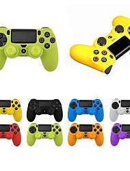 Недорогие -Защитный чехол для игрового контроллера для Sony PlayStation 4 PS4 контроллер мягкий силиконовый чехол для PS4 / Pro / тонкий геймпад