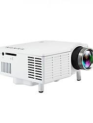 Недорогие -Uc28b мини портативный светодиодный проектор 1080 P жк-мультимедиа домашний кинотеатр кинотеатр USB TF светодиодный проектор для домашнего использования