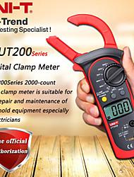 Недорогие -uni-t ut200b lcd электрическая профессиональная подсветка 600a напряжение переменного / постоянного тока сопротивление переменному току цифровые клещи