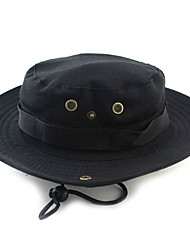 Недорогие -Муж. Классический Шляпа от солнца Нейлон,Однотонный Зима Белый Черный Хаки