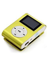 Недорогие -Новый стиль мини-USB-клип mp3-плеер Поддержка ЖК-экран 32 ГБ Micro SD TF карты MP3-плеер