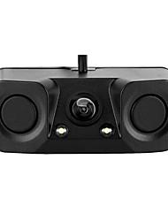 Недорогие -3 в 1 водонепроницаемый датчик парковки автомобиля резервный задний радар-детектор камеры заднего вида 170