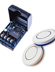 Недорогие -Широкий напряжения DC12V-24V-48V один пульт дистанционного управления светодиодные лампы / насос выключатель питания круглый пульт дистанционного управления
