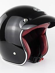 Недорогие -ретро мотоцикл с открытым лицом шлем старинные скутер шлем мотоциклетный шлем s-xxl зоман sm512