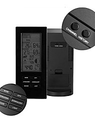 Недорогие -TS-72 USB беспроводной термометр гигрометр метеостанция прогноз барометр термометр открытый датчик часы