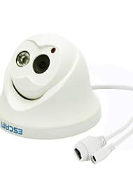 Недорогие -ESCAM QD100 720P H.264 ONVIF IP-камера ночного видения для помещений