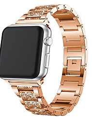 Недорогие -для apple watch band 40мм 44мм 38мм 42мм женщины бриллиантовый ремешок для apple watch series 4 3 2 1 браслет iwatch ремешок из нержавеющей стали