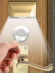 Недорогие -1 компл. 2 Вт 4led инфракрасный замок двери индукционная лампа человеческого тела индукции ночного света кабинета крытый проход индукционная лампа подарок свет