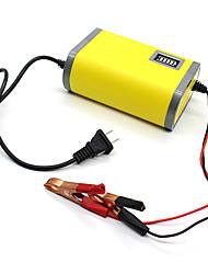 Недорогие -12v 6a портативное умное автомобильное зарядное устройство автомобильное зарядное устройство адаптер питания