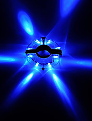 Недорогие -Велосипедные фары колесные огни Велосипедные фонари LED Горные велосипеды Велоспорт Водонепроницаемый Несколько режимов Супер яркий элемент питания Батарейки таблеточного типа Батарея / АБС-пластик