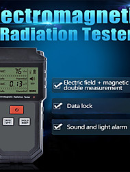 Недорогие -тестер электромагнитного излучения портативный цифровой жк-электрическое магнитное поле эдс метр дозиметр детектор для компьютера телефон