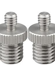 Недорогие -Camvate 1/4 мужской к M12 мужской двусторонний винтовой адаптер для DSLR RIG C1571
