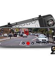 Недорогие -junsun a930 4g adas автомобильный видеорегистратор камера 10 дюймов android потоковое мультимедиа зеркало заднего вида fhd 1080p wi-fi gps видеорегистратор видеорегистратор видеорегистратор