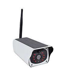 Недорогие -солнечная камера видеонаблюдения с низким энергопотреблением пистолет аккумуляторная беспроводной беспроводной пульт дистанционного открытый водонепроницаемый монитор
