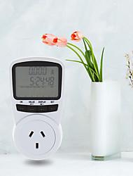 Недорогие -TS-1500 электронный счетчик энергии жк-монитор энергии подключаемый счетчик электроэнергии для ЕС подключить монитор электронной энергии