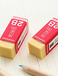 Недорогие -1 шт. 2b карандаши высокое качество ластик написание рисование ластик резиновый карандаш ластик-искусство рисования студент канцелярские принадлежности для офиса школьный экзамен