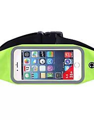 Недорогие -Поясные сумки / Пояс Чехол для Спортивные сумки Водонепроницаемость / Быстровысыхающий / Со светоотражающими полосками Сумка для бега iPhone 5c / iPhone 4/4S / Samsung Galaxy S4 Терилен / Нейлон