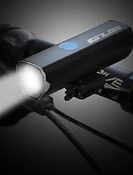 Недорогие -Светодиодная лампа Велосипедные фары Передняя фара для велосипеда Велоспорт Cool Литиевая батарея 300 lm Белый Велосипедный спорт