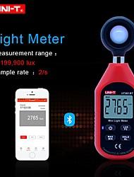 Недорогие -uni-t ut383bt цифровой люксметр bluetooth mini light meter экологическое оборудование для испытаний ручной тип люксметр осветитель