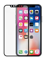 Недорогие -Защитная пленка для экрана Apple iphone XS / Iphone XR / Iphone XS Макс закаленное стекло 1 шт. Защитная пленка для экрана переднего экрана высокого разрешения (HD) / 9h твердость / 3D Touch
