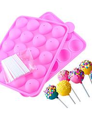 Недорогие -1шт силикагель Печенье Шоколад Для торта Круглый Формы для пирожных Инструменты для выпечки