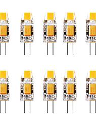 Недорогие -10 шт. 1.5 W Двухштырьковые LED лампы 3000 lm G4 1 Светодиодные бусины Тёплый белый Белый 12 V