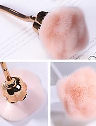 Недорогие -щетка для ногтей для маникюра щетка с розовой головкой румяна кисточки для пудры гель для ногтей аксессуары для ногтей инструменты для ногтей