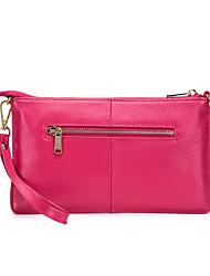 Недорогие -(bullcaptain) новый первый слой воловья кожа ультратонкая сумка через плечо молния шаблон европейский и американский модный конверт сумка