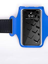 Недорогие -С ремешком на руку для Спортивные сумки Водонепроницаемость Компактность Прочный Сумка для бега Водонепроницаемый материал Универсальные Взрослые / iPhone X