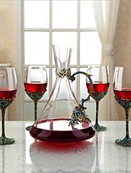 Недорогие -5 шт. Хрусталь Вино Pourers Винные холодильники Классический Вино Аксессуары для Barware