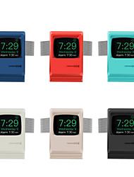 Недорогие -ретро стойка силикагель для Apple Watch серии 4/3/2/1 беспроводной зарядки (без кабеля для передачи данных)