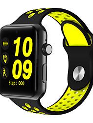 Недорогие -Смарт Часы Цифровой Современный Спортивные силиконовый 30 m Защита от влаги Пульсомер Bluetooth Цифровой На каждый день На открытом воздухе - Черный Белый Желтый