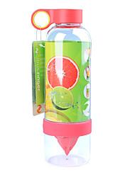 Недорогие -Бутылка для воды Портативный фильтр для воды 800 ml ПК Портативные Прочный для Отдых и Туризм На открытом воздухе Походы / туризм / спелеология 1 pcs Зеленый Желтый Красный