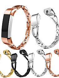 Недорогие -Ремешок для часов для Fitbit Alta HR / Fitbit Alta Fitbit Спортивный ремешок / Современная застежка / Дизайн украшения Нержавеющая сталь Повязка на запястье
