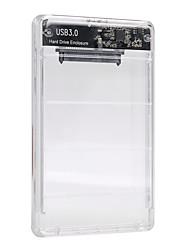 Недорогие -maikou 5 Гбит / с 2,5-дюймовый прозрачный жесткий диск SATA 3.0 - USB 3.0 внешний жесткий диск Поддержка ssd корпус коробки 2 ТБ