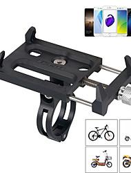 Недорогие -Крепление для телефона на велосипед Регулируется / Выдвижной Противозаносный Держатель iphone для Шоссейный велосипед Горный велосипед Мотобайк Алюминиевый сплав PP iPhone X iPhone XS iPhone XR
