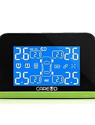 Недорогие -автомобильная система контроля давления в шинах tpms солнечная зарядка hd цифровой жк-дисплей автоматическая сигнализация беспроводная с 4 датчиком