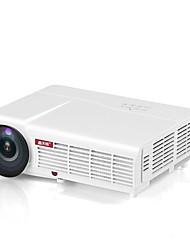 Недорогие -htp led96 wifi светодиодный проектор 3d android с занавеской или подставкой bt96 proyector hdmi видео мульти система домашнего кинотеатра