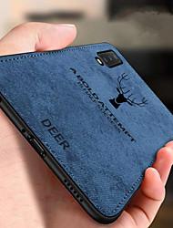 Недорогие -Ткань Ткань Чехол для телефона с изображением оленя для xiaomi mi 9 se mi 9 Мягкий силиконовый чехол для задней панели для xiaomi mi 8 lite mi 8 se mi 8 mi 6x mi 6 mi 5x mi max 3 mi mix 3 mi max 2 mi