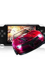 Недорогие -4.3 портативные аккумуляторные многофункциональные дети hd ретро простота в эксплуатации игровая приставка весело карманный размер портативный плеер 4 г большой экран
