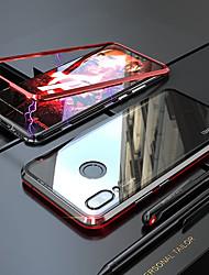 Недорогие -магнитомагнитный адсорбционный металлический стеклянный корпус для xiaomi redmi note 7 задняя крышка чехол для xiaomi redmi note 7 pro