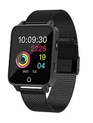 Недорогие -x9 умные часы мужчины мульти-сенсорный экран ip68 водонепроницаемый умный браслет мониторинг сердечного ритма шагомер для ios android smartwatch