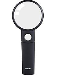 Недорогие -1 шт. Черная ручная лупа для хобби и науки с эргономичной ручкой, ремонтом часов, оценкой монет, лучшими игрушками для детей, альтернативой очкам, набором для чтения для пожилых людей