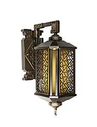 Недорогие -наружный настенный светильник бронзовый коридор внутренний двор настенный светильник ip54 бытовой коммерческий декор свет настенный антикварный бра для наружных стен